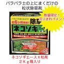 ネコソギエースX粒剤2Kg箱入り除草剤・粒剤タイプ