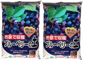 【送料無料】ブルーベリーの土 50L 25L×2袋 用土 培養土 ブルーベリー 果樹 土 ブルーベリー