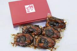 150年余の米沢の老舗「鯉の宮坂」の定番鯉の甘煮 L 5切れ(箱詰め)05P06Aug16