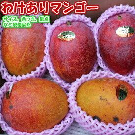 送料無料 沖縄産 わけあり マンゴー 約1.5kg(約3〜6個)※産地直送です【ご贈答品には不向きです】【発送期間 7月上旬〜8月下旬頃】