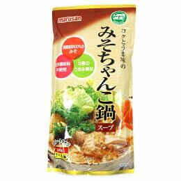 【冬季限定】みそちゃんこ鍋スープ(600g)【マルサン】