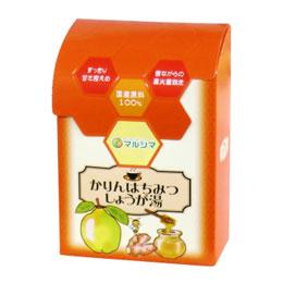 【8月新商品】かりんはちみつしょうが湯(箱入)(144g(12g×12))【マルシマ】
