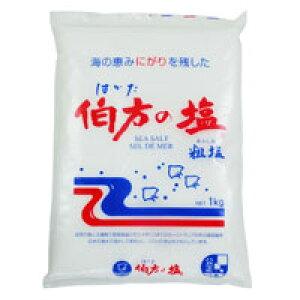 伯方の塩<粗塩>(1kg)【伯方塩業】