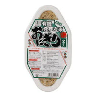 Organic sprouted Brown rice and seaweed (90 g x 2)