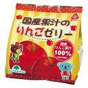 ☆【夏季限定】国産果汁のりんごゼリー(22g×7)【サンコー】