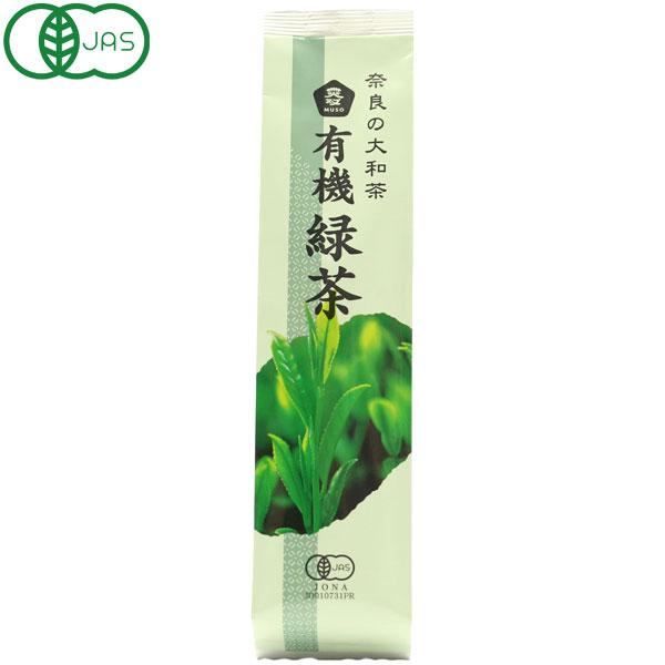 奈良の大和茶・有機緑茶(100g)【ムソー】
