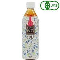 国産有機さらつや美人番茶(500ml)【ムソー】