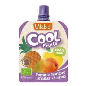 【夏季限定】Vitabio クールフルーツ(アップル・マンゴー・パイナップル)(90g)【ミトク】