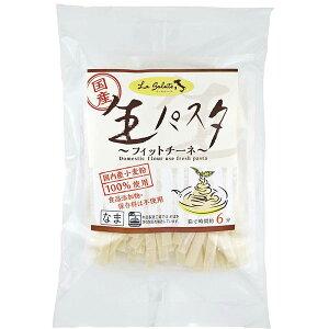 【4月新商品】国産小麦の生パスタ(フィットチーネ)(200g(100g×2))【本田商店】