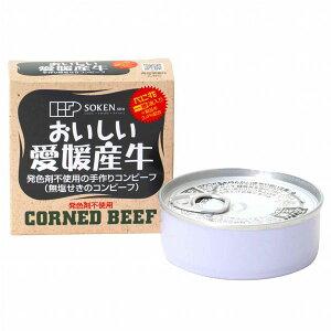 愛媛産牛・無塩せきコンビーフ(80g)【創健社】