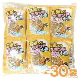 玄米入りアーモンド小魚(約4g×30袋)【発芽玄米】