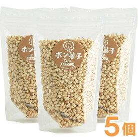 ポン菓子(玄米)(60g)【5個セット】【大徳】