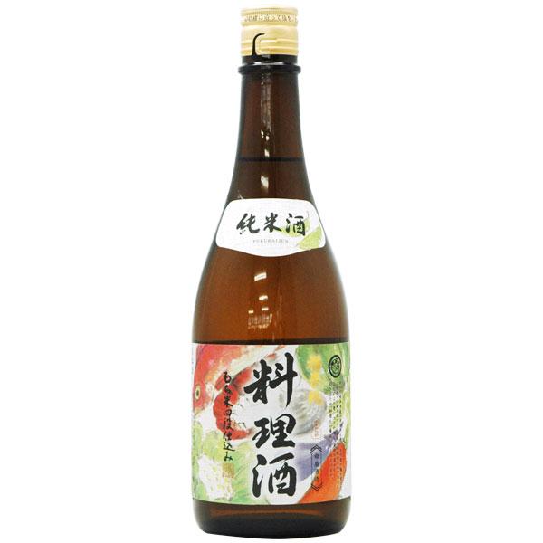 福来純 純米料理酒(720ml)【白扇酒造】【いつでもポイント2倍】
