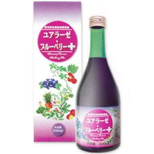 野草野菜果物発酵原液 ユアラーゼ・ブルーベリー+(500ml)【ミヤトウ野草研究所】