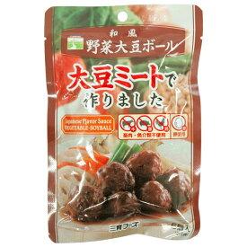 和風野菜大豆ボール(100g)【三育フーズ】