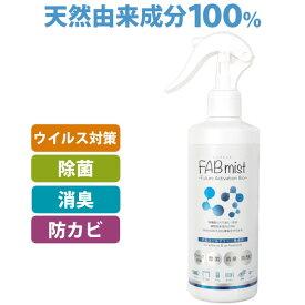 【7月新商品】除菌・消臭・防カビスプレー FABミスト(300ml)【ビッグバイオ】