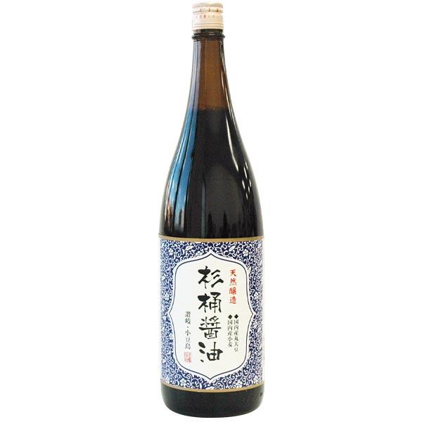 丸島 天然醸造 杉桶醤油(1.8L)【マルシマ】