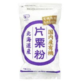 国内産有機片栗粉(200g)【ムソー】