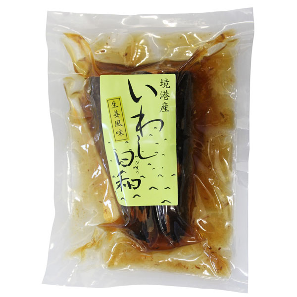 【5月新商品】いわし日和 生姜風味(100g)【角屋】