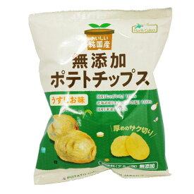 純国産ポテトチップス・うすしお(60g)【ノースカラーズ】
