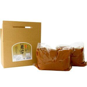 国内産立科麦みそ(3.6kg箱入)【大容量商品】【オーサワジャパン】
