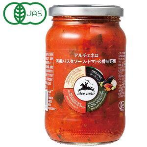 アルチェネロ 有機パスタソース(トマト&香味野菜)(350g)【日仏貿易】