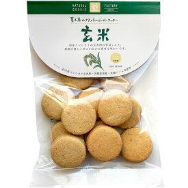 ナチュラルビーガンクッキー 玄米(80g)【エムケイアンドアソシエイツ】