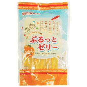 【夏季限定】ぷるっとゼリー みかん(16g×8本)【太田油脂】