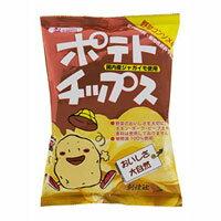 ポテトチップス 野菜コンソメ味(60g)【創健社】