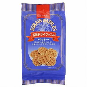 五穀ドライワッフル(8枚)【創健社】