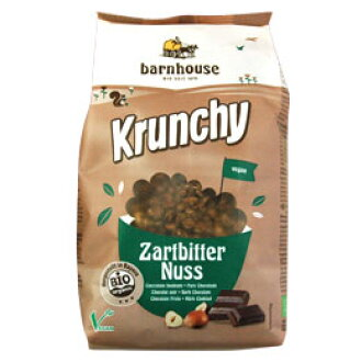 オーガニッククランチー (hazelnut chocolate) (375 g)□