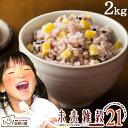 未来雑穀21+マンナン 2kg(500g×4) 完全 国産 雑穀で栄養・健康 お試しセット雑穀ご飯 送料無料 雑穀人気店の自慢の雑…