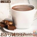 おから純ココア 110g おからココア おからパウダー [ 無糖 ダイエット 美容 健康 微粉末 なめらか カフェ ] 保存食 非…