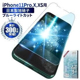 iPhone11 Pro iPhone XS X フィルム ガラスフィルム 目に優しい ブルーライトカット 液晶保護フィルム iPhone 11 Pro アイフォン11pro ガラスフィルム iPhonexs iPhoneX 保護フィルム シズカウィル shizukawill