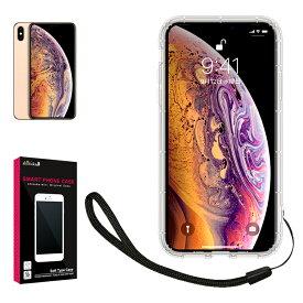iPhone Xs Max iPhone8 iPhone7 SE 第2世代 クリア ケース カバー TPU ケース ソフト ケース 高透明 衝撃吸収 ストラップ付 iphoneXs Max iphone8 7 docomo au softbank アイフォンXs Max アイフォン8 7 スマホケース iphone8 端末保護 シズカウィル(shizukawill)