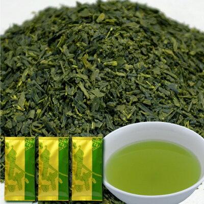 深蒸し煎茶が3袋、の3袋セット《お茶,日本茶,緑茶,深蒸し茶》