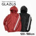 【セール】【GLAZOS】裏ボア・フード付きブルゾン 子供服 男の子 カジュアル アメカジ キッズ ジュニア アウター ジャ…