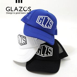 被采取小GLZS、網絲蓋子[3色展開]童裝男人的子女的孩子小孩帽子印刷糖果舵遮陽簾紫外線對策