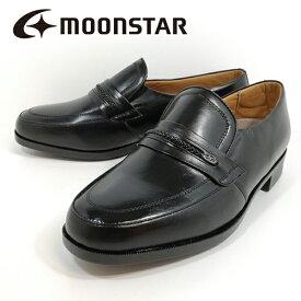 ミスターブラウン Mr.BROWN ムーンスター 1239-100 5E F 紳士靴 革靴 幅広