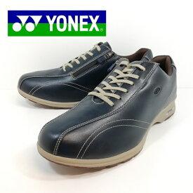 ヨネックス ウォーキング シューズ MC30W 靴 幅広 4.5E ネイビー 【メンズ】