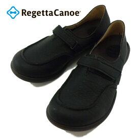 リゲッタ リゲッタカヌー Regetta Canoe R-323 R323 Black ブラック 黒 ベルト付 コンフォート 靴 シューズ 婦人靴 【レディース】 【レディース】