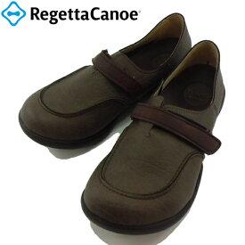 リゲッタ リゲッタカヌー Regetta Canoe R-323 R323 チャコール ベルト付 コンフォート 靴 シューズ 婦人靴 【レディース】 【レディース】