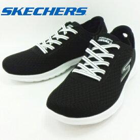 スケッチャーズ SKECHERS GO WALK LITE IMPULSE 15350 ブラック/ホワイト BLACK / WHITE 黒 / 白 BKW スニーカー 運動靴 ゴー ウォーク ライト インパルス 【レディース】 【レディース】