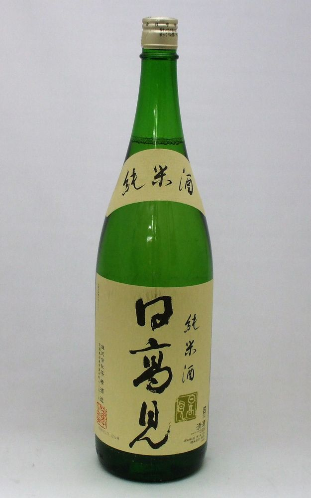 【ギフト包装非対応品】【送料無料】(日本酒)日高見 純米1800ml×4本