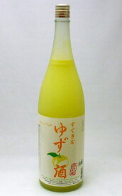 【本州以外は西濃運輸使用】【送料無料】すてきなゆず酒1800ml×4本セット