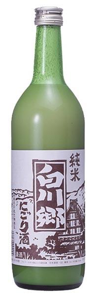 白川郷 純米にごり酒 720ml 三輪酒造 清酒 日本酒