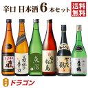 【送料無料】辛口 飲み比べセット 720ml×6本 日本酒セット 清酒 からくち