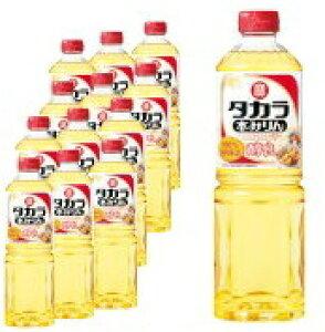 【送料無料】タカラ 本みりん「醇良」1Lペット×12 1ケース1000ml 宝酒造