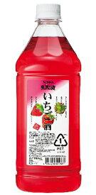 ニッカ 果実の酒 いちご酒 15度 1800ml ペットボトル リキュールアサヒ カクテルコンク 業務用