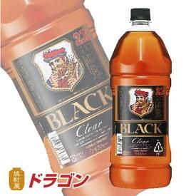 ブラックニッカ クリア 37度 2.7L 2700ml アサヒ ニッカウイスキー ペットボトル